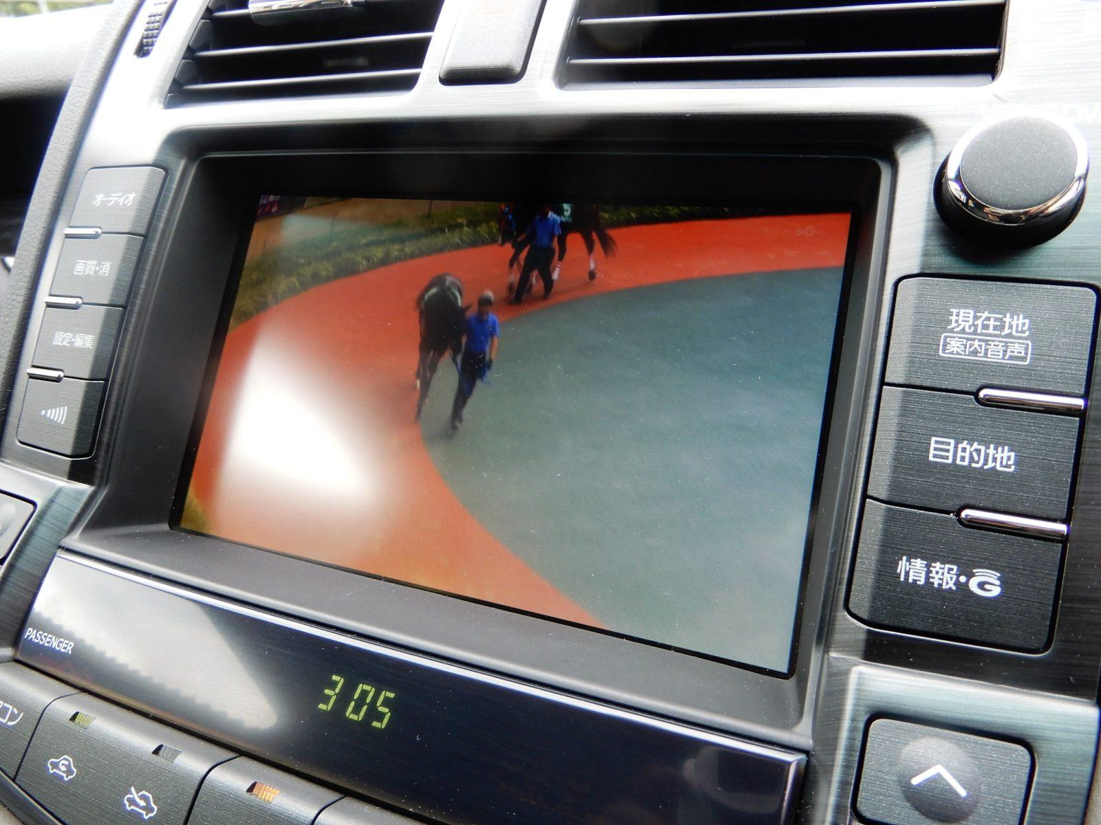 HDDナビ TV バックカメラ装着されております。